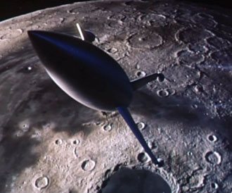 First manned expedition on the Moon - Destination Moon (Destination Moon)