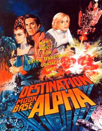 Unknown poster from the TV movie Destination Moonbase Alpha (Destination Moonbase-Alpha)