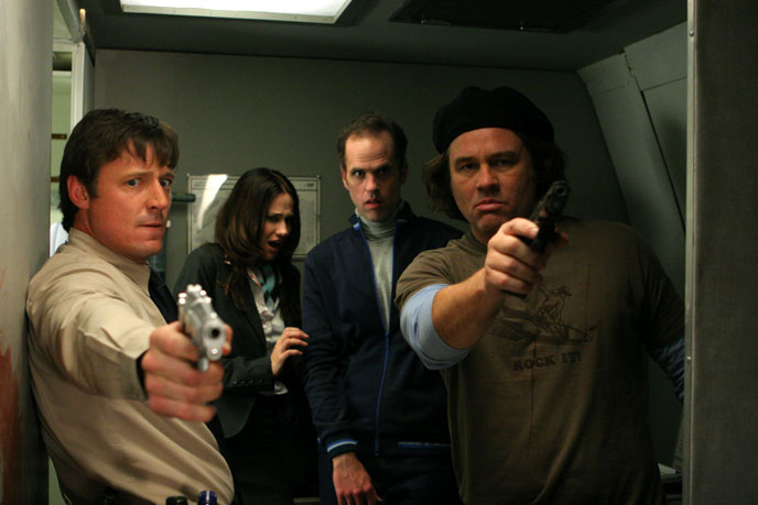 Photo de 'Des zombies dans l'avion' - ©2007 New Lone Cinema - Des zombies dans l'avion (Flight of the Living Dead: Outbreak on a Plane) - cliquez sur la photo pour la fermer