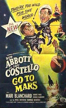 Us poster from the movie Abbott and Costello Go to Mars