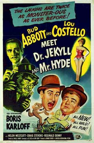 Unknown poster from the movie Abbott and Costello Meet Dr. Jekyll and Mr. Hyde