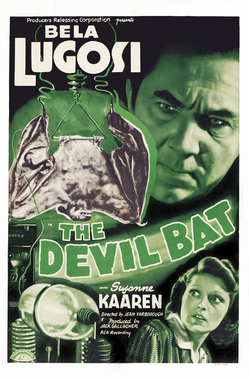 Us poster from the movie The Devil Bat
