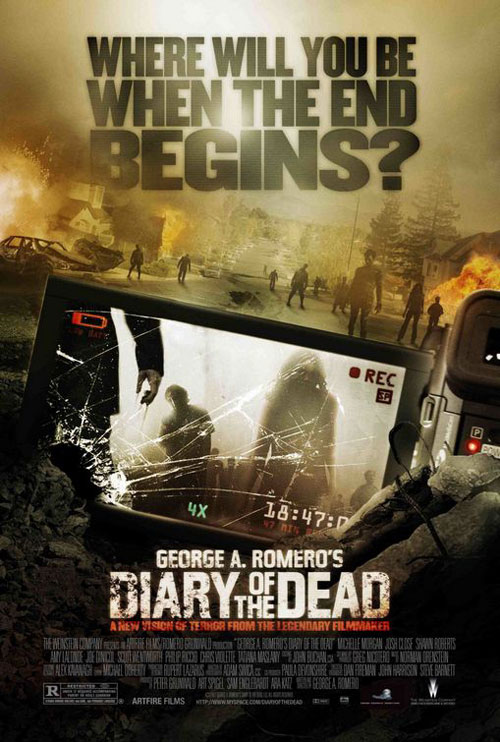 Us poster from the movie Diary of the Dead