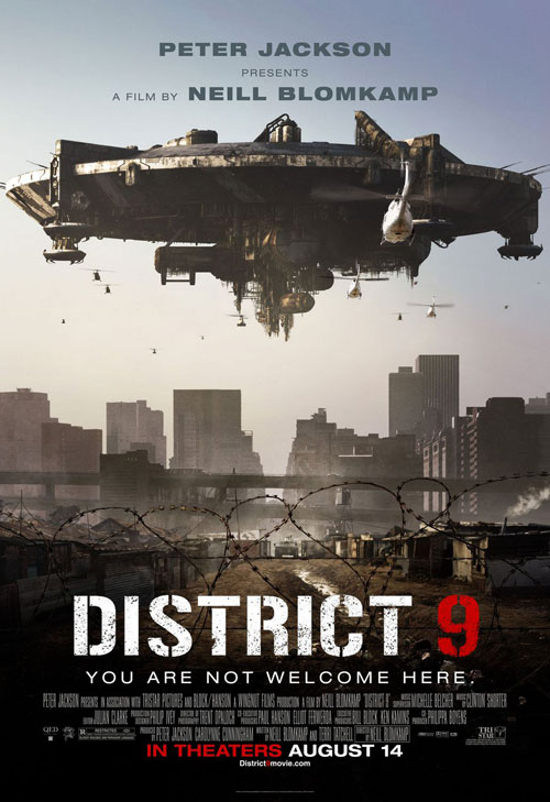 Affiche américaine de 'District 9'