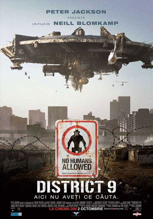 Affiche roumaine de 'District 9'