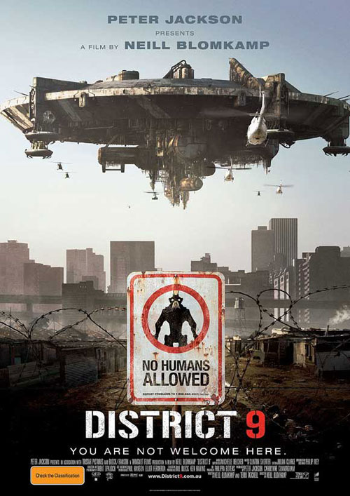 Affiche australienne de 'District 9'