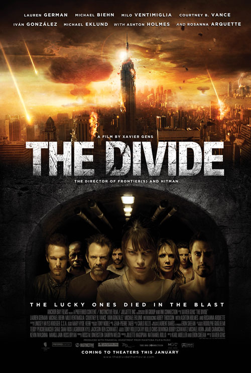 Us poster from the movie The Divide