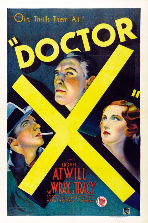 Us poster from the movie Doctor X