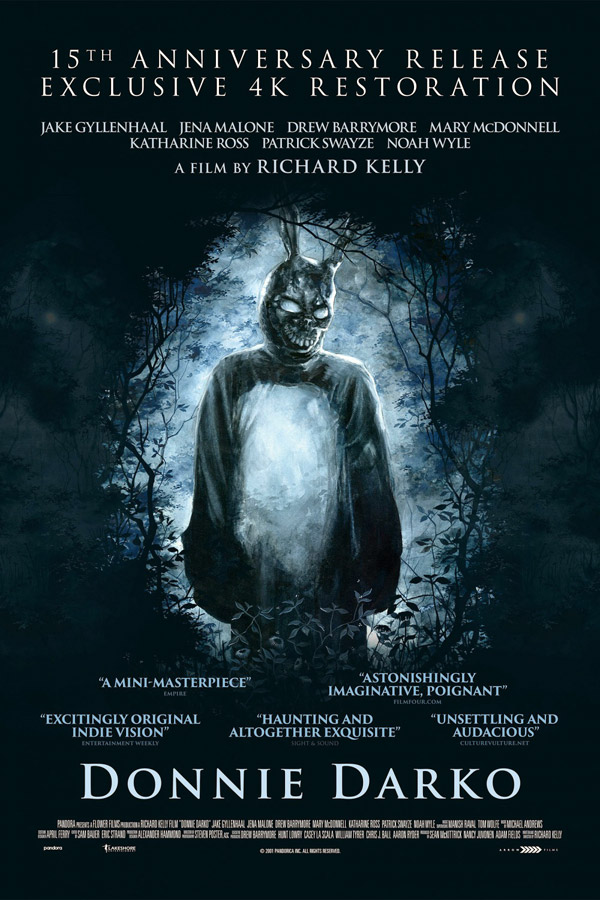 Us poster from 'Donnie Darko'