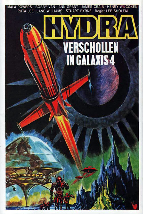Affiche allemande de 'Doomsday Machine'