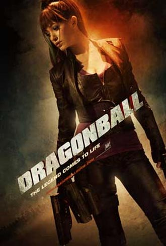 Affiche américaine de 'Dragonball Evolution'