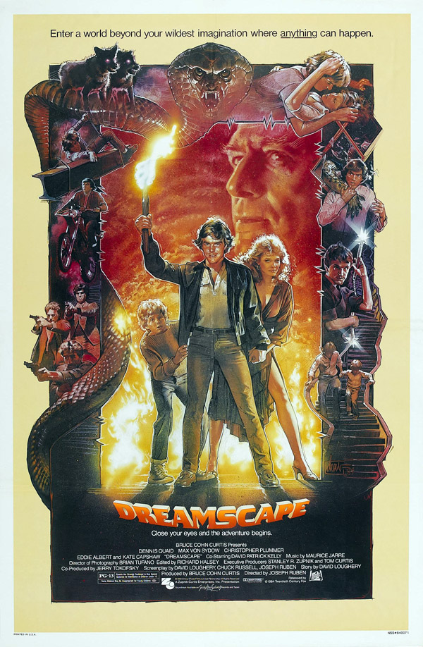 Us poster from the movie Dreamscape
