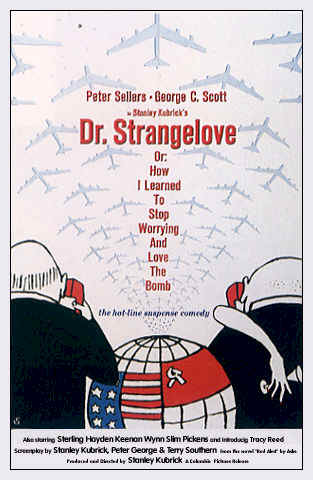 Unknown poster from the movie Dr. Strangelove or: How I Learned to Stop Worrying and Love the Bomb