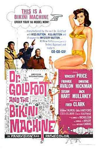 Us poster from the movie Dr. Goldfoot and the Bikini Machine