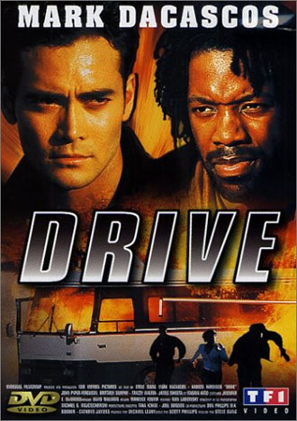 French poster from the movie Drive