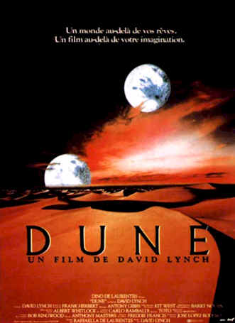 French poster from the movie Dune