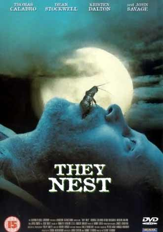 British poster from the TV movie They Nest