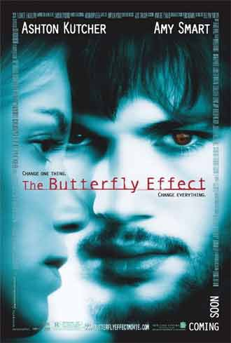 Us poster from the movie The Butterfly Effect