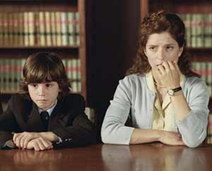 Andrea, Evan's mother is anxious about her son's memory holes - The Butterfly Effect