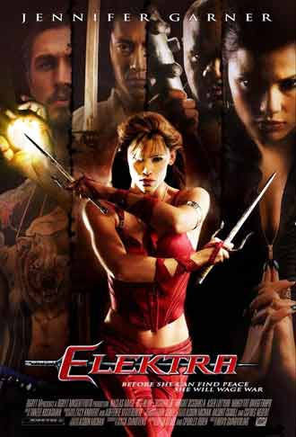 Us poster from the movie Elektra