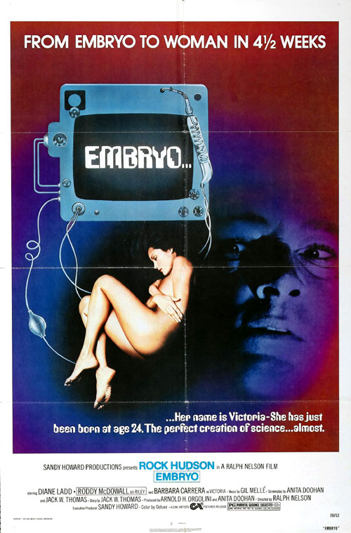 Us poster from the movie Embryo