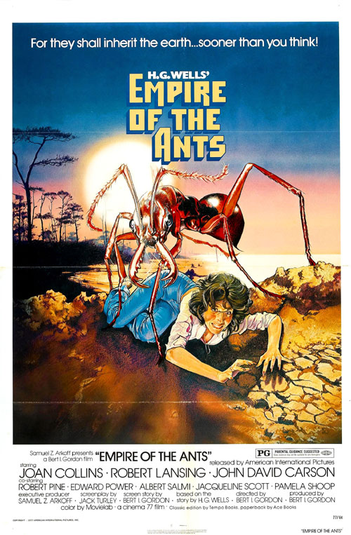 Us poster from the movie Empire of the Ants