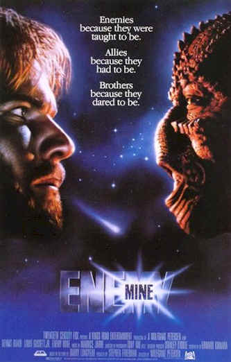 Us poster from the movie Enemy Mine