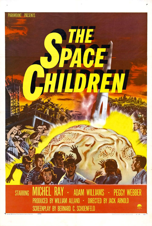Us poster from the movie The Space Children