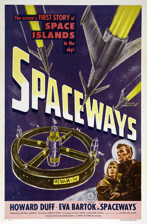 Us poster from the movie Spaceways