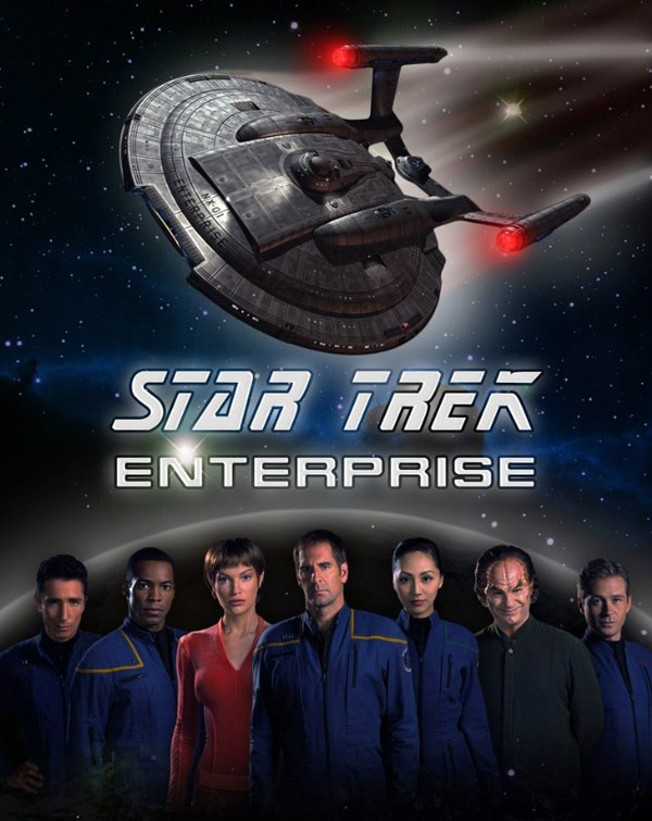 International artwork from the series Star Trek: Enterprise