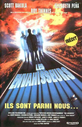French poster from the series The Invaders