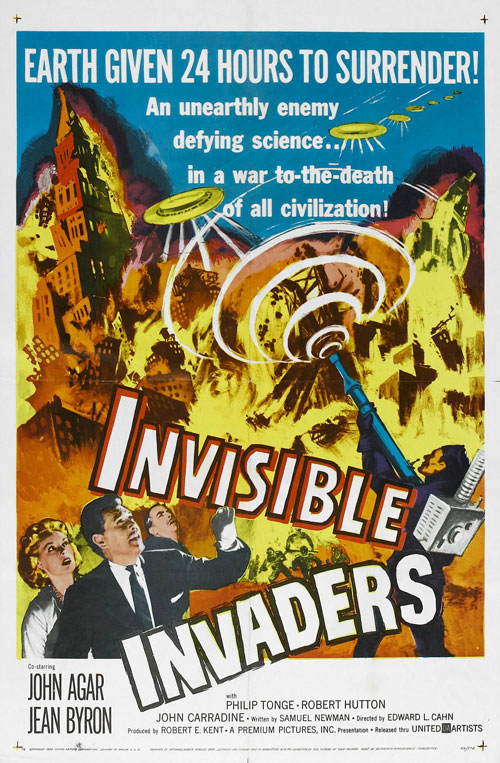 Us poster from the movie Invisible Invaders