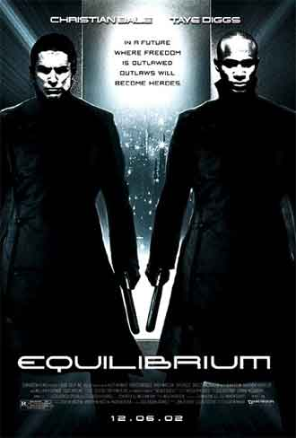 Us poster from the movie Equilibrium