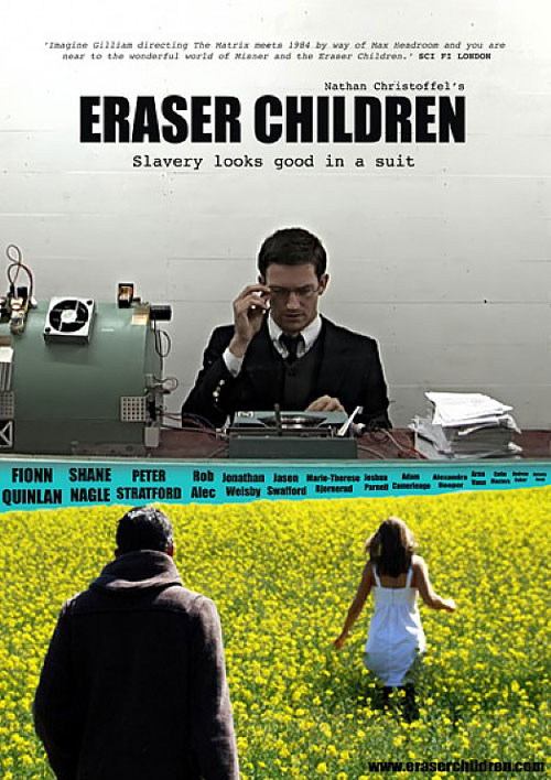 Australian poster from the movie Eraser Children