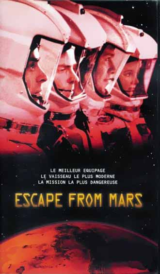Affiche française de 'Escape from Mars'