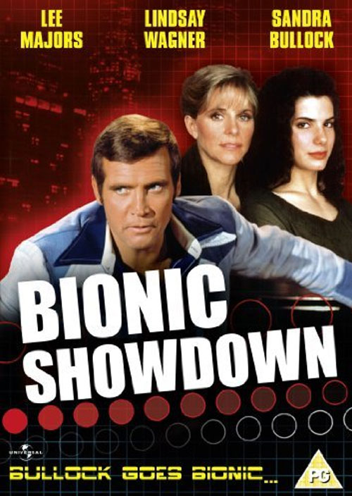 Unknown poster from the TV movie Bionic Showdown: The Six Million Dollar Man and the Bionic Woman