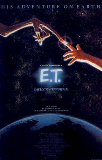 Us poster from the movie E.T.: The Extra-Terrestrial