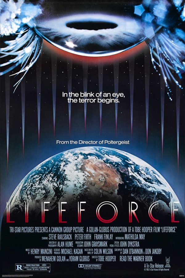 Us poster from the movie Lifeforce