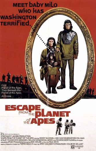 Unknown poster from the movie Escape from the Planet of the Apes