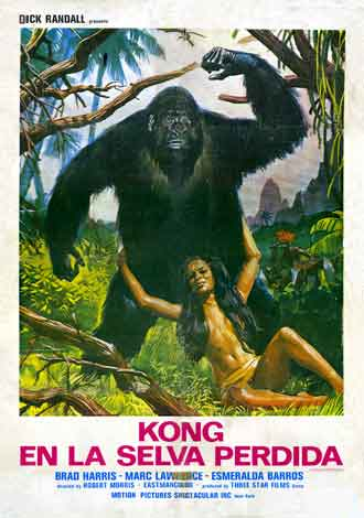 Unknown poster from the movie King of Kong Island (Eva, la Venere selvaggia)