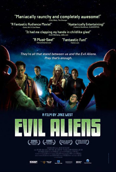 Unknown poster from the movie Evil Aliens