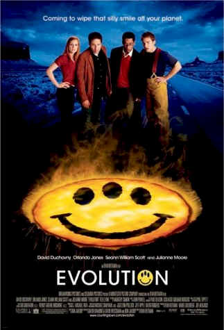Us poster from the movie Evolution