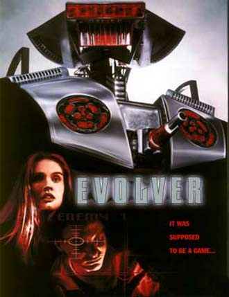 Unknown poster from the movie Evolver