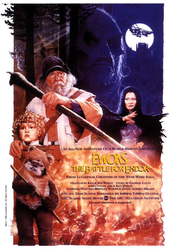 Us poster from the TV movie Ewoks: The Battle for Endor