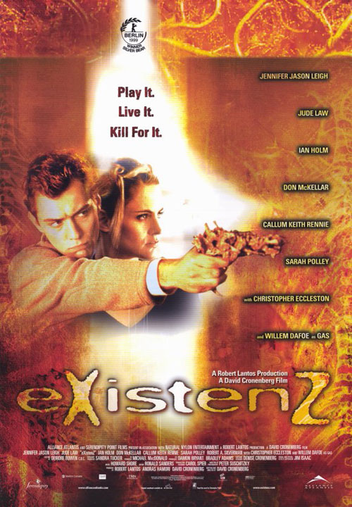 Us poster from the movie ExistenZ (eXistenZ)