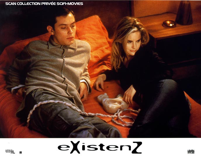 Photo de 'ExistenZ' - Scan Scifi-Movies - ExistenZ (eXistenZ) - cliquez sur la photo pour la fermer