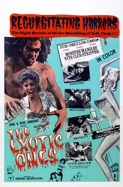 Us poster from the movie The Exotic Ones