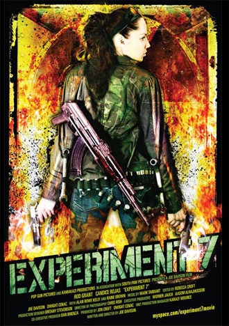 Us poster from the movie Experiment 7
