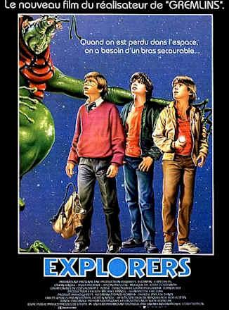 Movie posters from Explorers - Joe Dante (1985) - page #1
