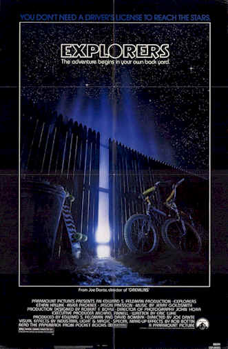 Us poster from the movie Explorers